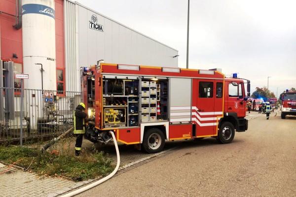 Feuerwehrgrossuebung