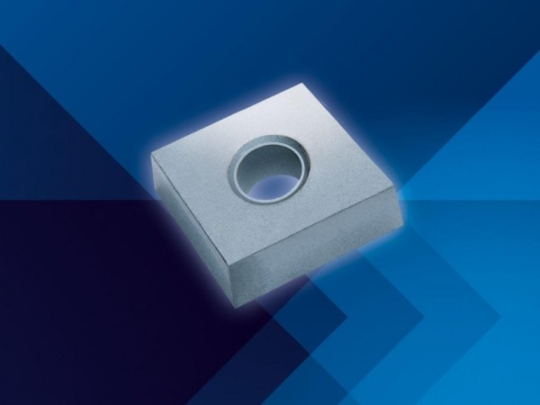 Carbide inserts for PCD and PcBN tipping